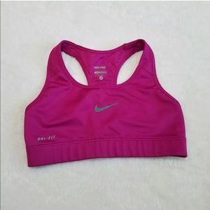 Nike Pro XS Fuchsia Purple Sports Bra